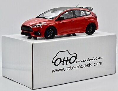 Ford Focus Rs Mk3 Rouge 2017 Ot802 Otto 1/18