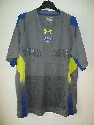 Maillot rugby ASM CLERMONT gris UNDER ARMOUR grip collection XL