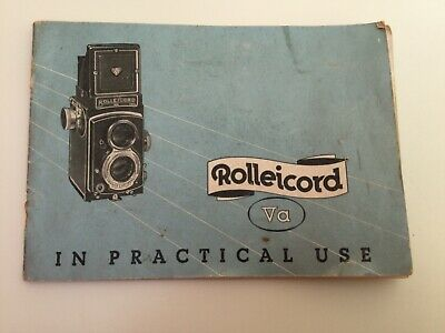 Rolliecord VA ,In Practical Use,Original Instructions