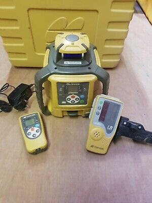 Topcon SV2S Dual Grade Laser Level - 12 months cal - rechargeable battery