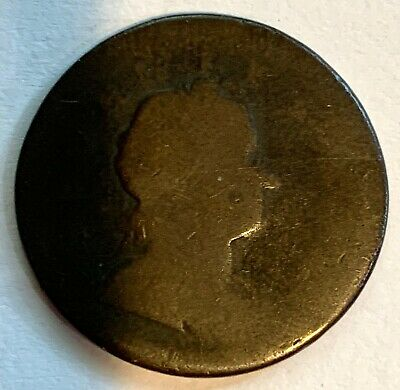 Great Britain George I 1724 1 Farthing, Us Colonial Copper