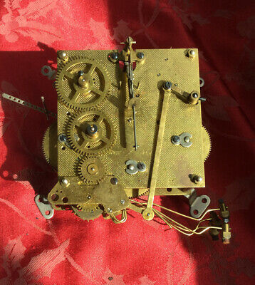 British Anvil Perivale 1/4 Chiming Clock Movement For Spares