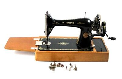Vintage Singer 66K Hand Crank Sewing Machine c1925 - FREE Delivery [5666]