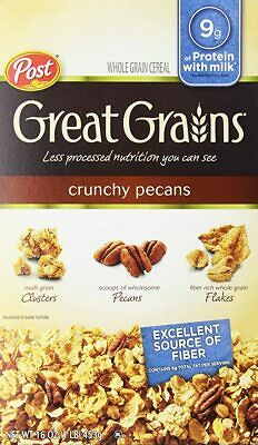 Post Great Grains Crunchy Pecan, 16-ounce [Pack of 2]