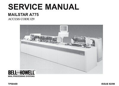 Bell Howell Mailstar A775  service Manual (pdf file)(016)