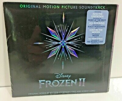 Disney Frozen 2 Disney CD Original Soundtrack Kristen Bell Idina Menzel new