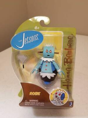 BRAND NEW Jazwares Hanna-Barbera Jetsons Rosie Robot Action Figure w Duster
