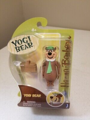 BRAND NEW Jazwares Hanna-Barbera Yogi Bear Action Figure with Picnic Basket