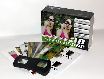 Stereoscope 3D Viewer Glasses for Laptop  100+ photograghs Magazines