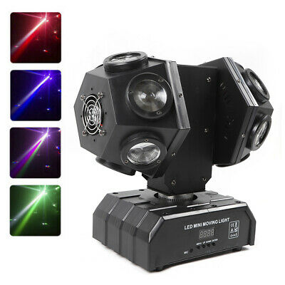 12*3W LED RGBW Dual Moving Head DMX512 Stage Light Beam Stage Party Light Lamp