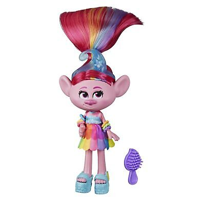 DREAMWORKS TROLLS Glam Poppy Fashion Doll with Dress, Shoes, and More, Inspir...