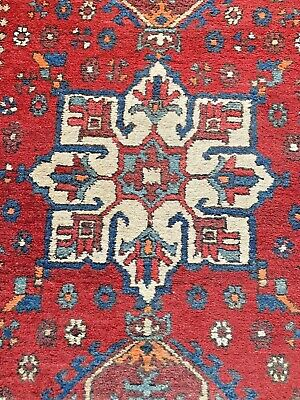 ANTIQUE Vintage KURDISH TURKISH LONG RUG hand woven runner bespoke kilim