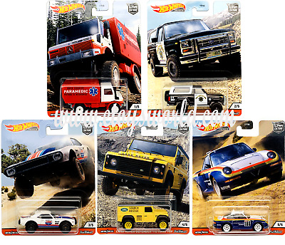 Hot Wheels Premium 2020 Car Culture 1/64 Wild Terrain Diecast Cars FPY86-956Q