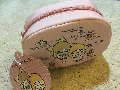 NWT Little Twin Stars makeup pouch bag Hello Kitty Sanrio New