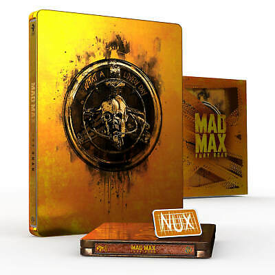 Mad Max Fury Road Titans Of Cult 4K Ultra Hd Bluray Steelbook Preorder Sold Out