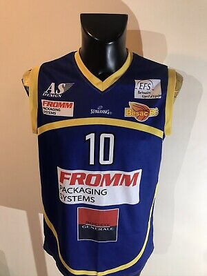 Maillot Basket Ancien Vintage Besac RC Numero 10 Taille L