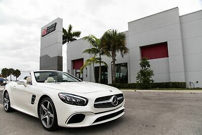 2018 Mercedes-Benz SL-Class SL 550 2018 SL550 - ONE OWNER FL CAR - ONLY 3K MI - SOFT CLOSE - WELL MAINTAINED