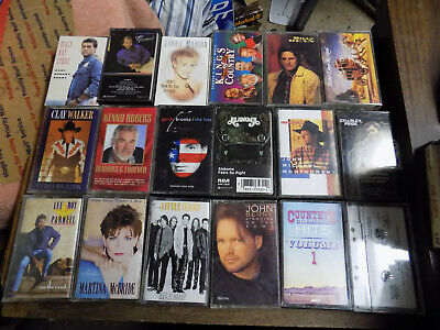COUNTRY MUSIC CASSETTE TAPES LOT (YOU PICK)   FREE SHIPPING!!! U-Pick
