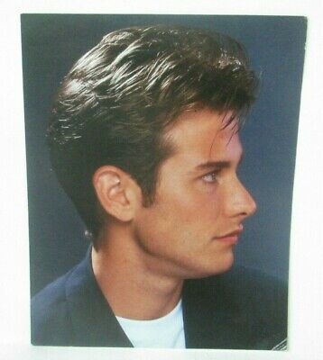 Handsome Man 1980's Hairstyle Of The Month 8X10 Photo Poster Beauty Salon B21