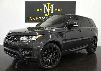 2017 Land Rover Range Rover Sport  2017 Range Rover Sport V8 Supercharged DYNAMIC~ $94,151 MSRP~ ONLY 11K MILES