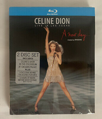 Celine Dion A New Day Live in Las Vegas Concert ( Blu-ray Disc 2008 )2 Disc Set