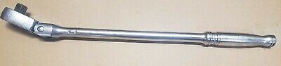"""Snap-On Model S711A 1/2"""" Long Flex Head Ratchet Pre-Owned Free Shipping"""