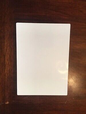 """Sublimation Photo Panel W/ Easel 5""""x7"""" Gloss White Chromaluxe#5857"""