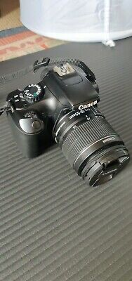 Canon EOS 1100D (Rebel T3) 12.2MP DSLR - Black (Kit with EF-S IS II Lens) (3.1x)