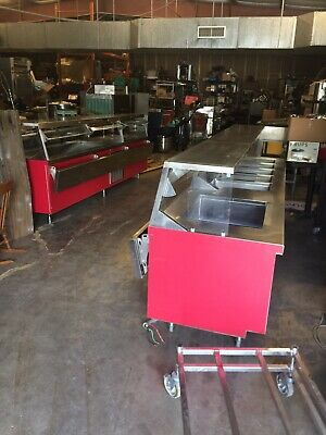 2 Food Serving Line Hot And Cold