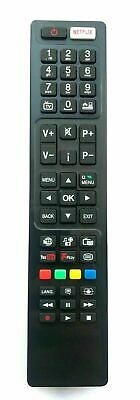 """New Replacement Remote Control For Bush DLED43287FHDCNTD 43"""" Full HD LED Smart"""