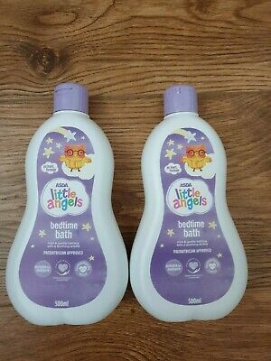 Little Angels Bedtime Bath 500ml X2