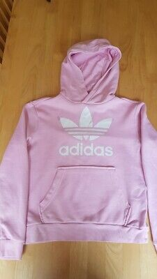 Adidas girls hoodie 9-10, Baby pink, used but excellent condition, hardly worn
