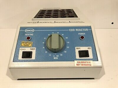 Hach Cod Reactor 45600-00 25 Well Dry-Bath Laboratory Lab Incubator 150C Heater