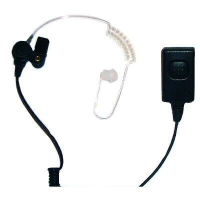 Centurion MTH800 Two wire Earpiece Large Front facing PTT for gloves