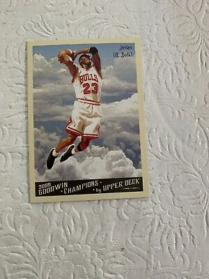 Michael Jordan 2009 10 Upper Deck Goodwin Champions #114 THE LAST DANCE BULLS