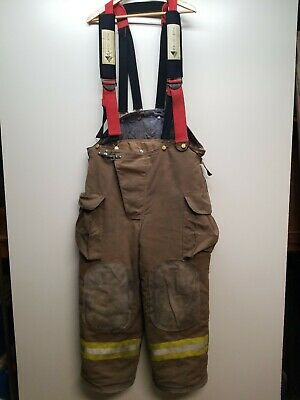 Authentic veridian Turnout Bunker Gear Pants Firefighter