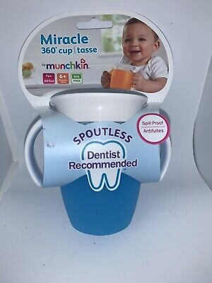 Munchkin  7 Oz Miracle® Trainer Cup Blue