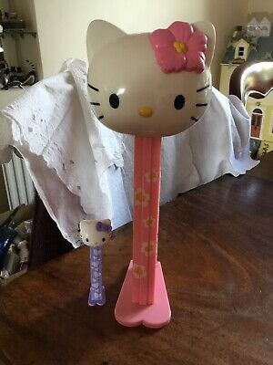Giant Pez Hello Kitty Giant Pez Dispenser + Small Hello Kitty Pez Dispenser