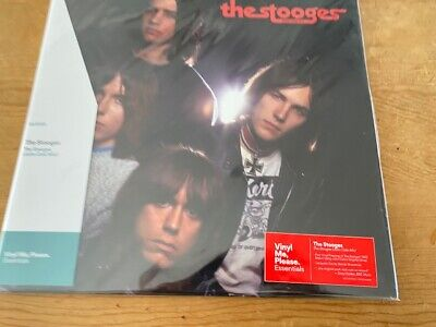 THE STOOGES John Cale Mix LP SEALD VMP Red&Black Marble Vinyl Iggy Pop Me Please