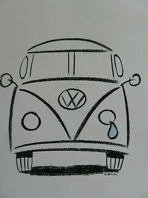 Jerry Garcia / VW Bus 25 Years Ago This Summer