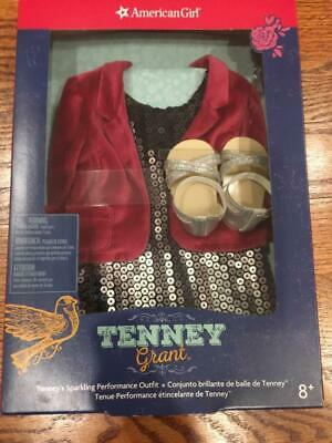 American Girl Tenney Grant Sparkling Performance Outfit New In Box Retired Rare