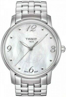 Tissot Women's Mother of Pearl Dial Stainless Steel Watch T052.210.11.117.00