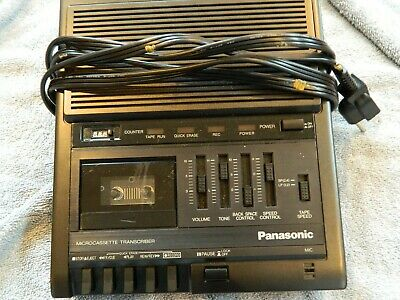 Panasonic Microcassette Transcriber RR-930 Tested Recorder Player ONLY