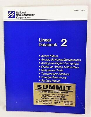 1988 National Semiconductor Linear Databook 2 - ADC / DAC