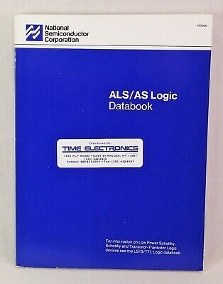 1987 National Semiconductor ALS/AS Logic Databook