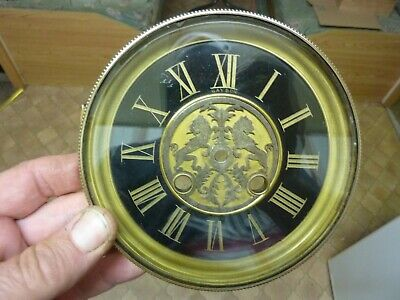VERY NICE ORNATE ANTIQUE FRENCH CLOCK DIAL - BEZEL-GAYDON of PARIS  (EB)