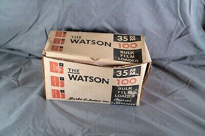 The Watson 100 35mm Daylight Bulk Film Loader - Darkroom Developing - Boxed