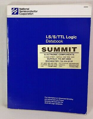 1987 National Semiconductor LS/S/TTL Logic Databook