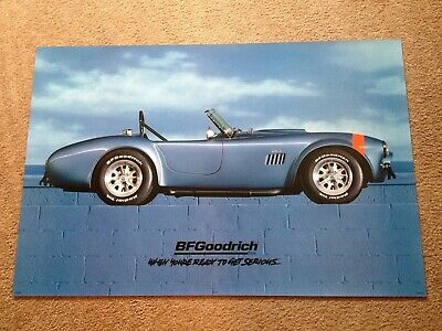 BFGOODRICH  T/A Poster Shelby Cobra  ORIGINAL 24 X 36 new man cave garage