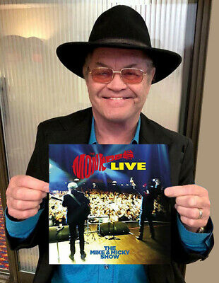 Micky Dolenz Direct! Pre-Order Monkees Mike & Micky Show Live Vinyl Lp Signed!!